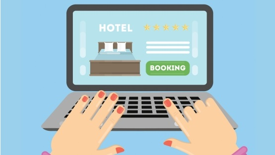 Internet booking engine for hotels