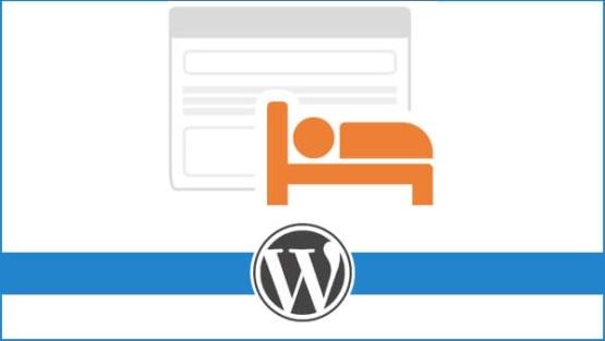 Strona hotelu na WordPress z rezerwacją pokoju