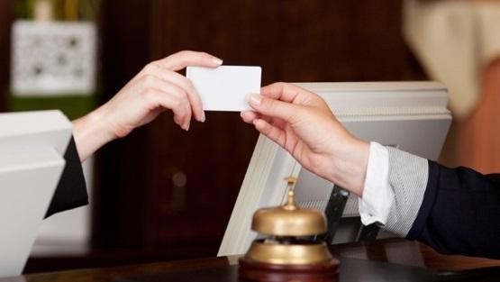 Hotel guest registration system