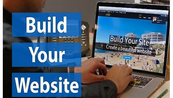 Build a website with booking system for hotel